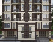 Визуализация экстерьера 10 этажного дома 7